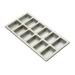 Focus Foodservice 905755 Mini Loaf Pan (2 Rows Of 6)