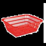 "PT7 Plastic Colander, Rectangle 19-1/4"" X 15-3/4"" X 7"""