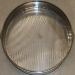 "ST-20H5 Stainless Steel Steamer 20"" X 5"" Perforated Bottom"