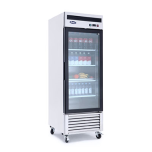 "Atosa Freezer, 1-Glass Door 27""W, 21 Cuft, 115V"
