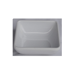 """Kitchen Melamine Inc. LKP08028W Square Dish 2.8"""" White 384/Cs KMI-LKP08028W"""