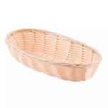 """Tablecraft 1117W Basket Oblong Woven 9"""" X 3-1/2"""""""