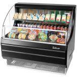 """Turbo Air TOM-40LB-N Open Merchandiser 39""""l 45.75"""" h Blk, Ng Refrigerant"""