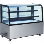 """Ultra® Bakery Showcase,Refrigerated S/S Curve Front 36"""""""