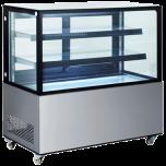 "Ultra® Bakery Showcase,Refrigerated S/S Euro-Gem 60"""