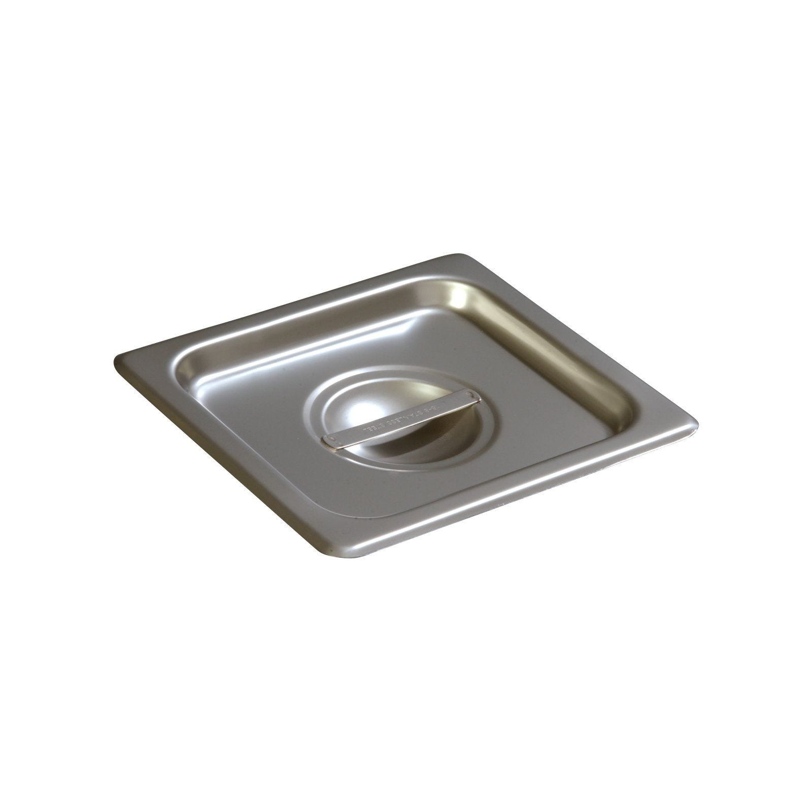 Solid Cover For Half-Long Steam Table Pan Winco SPJL-HCS NSF