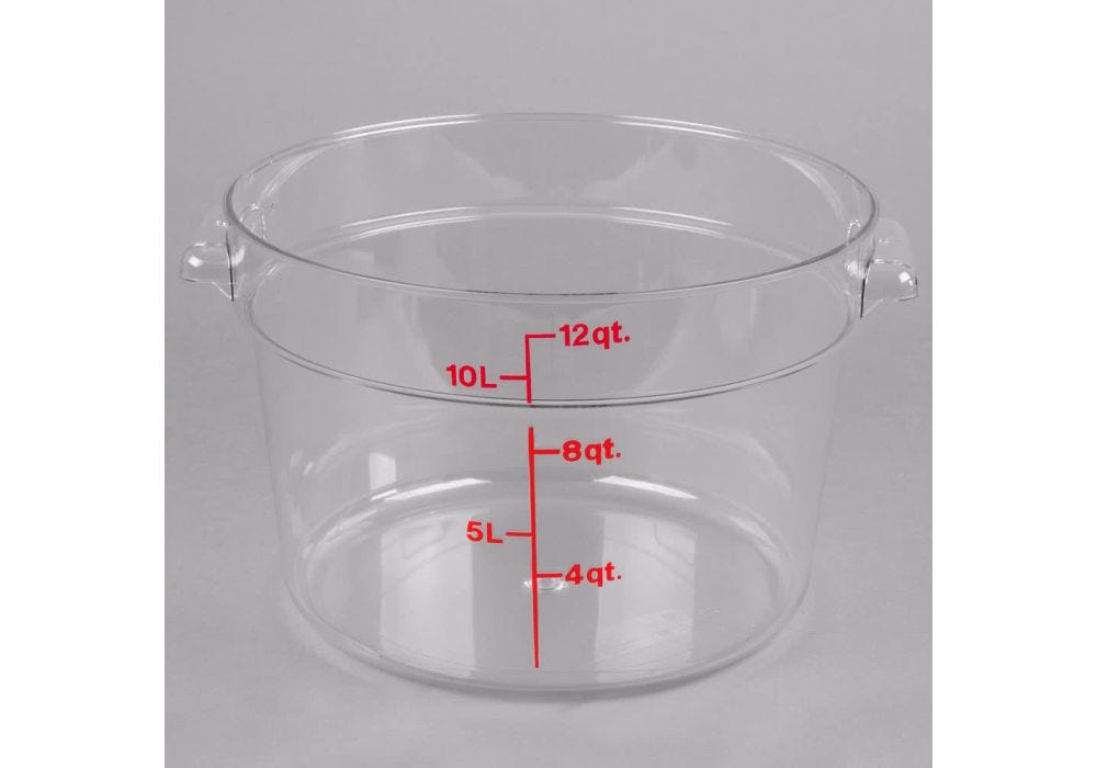 Cambro Rfscw12135 Round Storage Container