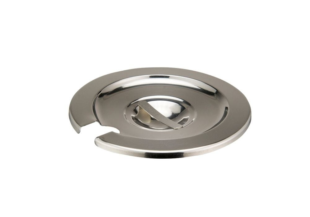 Stainless Steel Cover for 11-Quart Inset NSF Winco INSC-11M