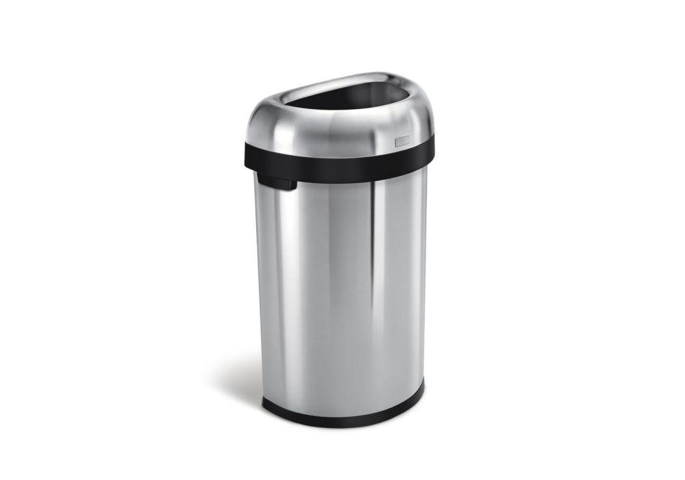 Cw1468 Trash Can Semi Round 60 Liter 16gal